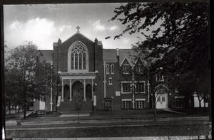 Primary view of object titled 'First Methodist Episcopal Church in Edmond, Oklahoma'.