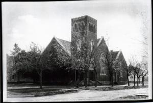 Primary view of object titled 'First Presbyterian Church in Edmond, Oklahoma'.