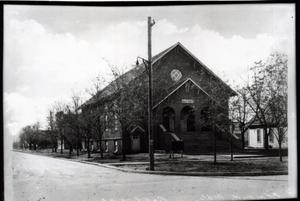 Primary view of object titled 'Baptist Church in Edmond, Oklahoma'.