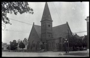Primary view of object titled 'Methodist Episcopal Church in Ardmore.'.