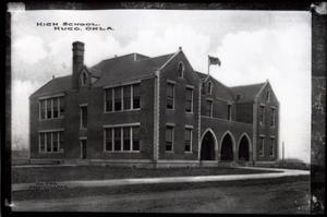 Primary view of object titled 'Hugo High School in Hugo, Oklahoma'.