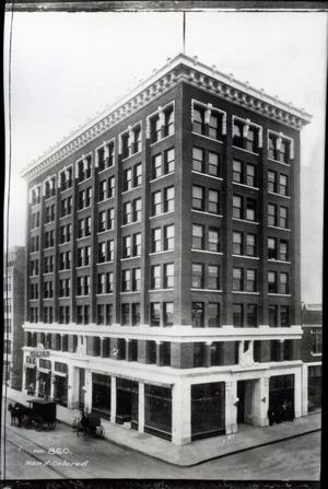Primary view of object titled 'Surety Building in Muskogee, Oklahoma'.