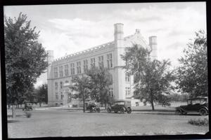 Primary view of object titled 'Monnet Hall at the University of Oklahoma in Norman, Oklahoma'.