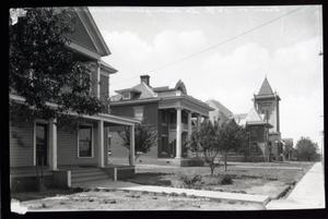 Primary view of object titled '14th Street in Ada, Oklahoma'.