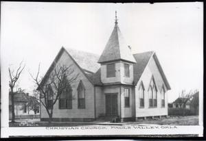 Primary view of object titled 'Christian Church in Pauls Valley, Oklahoma'.