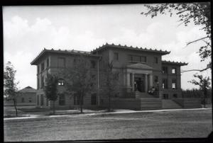 Primary view of object titled 'Carnegie Building at the University of Oklahoma in Norman, Oklahoma'.