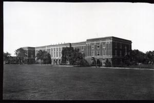 Primary view of object titled 'Thatcher Hall at Oklahoma State University in Stillwater, Oklahoma.'.