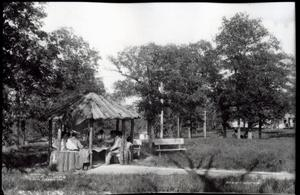 Primary view of object titled 'Sand Springs Park Shelter House'.