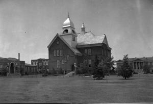 Primary view of object titled 'Old Central at Oklahoma State University in Stillwater, Oklahoma'.
