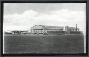 Primary view of object titled 'Transcontinental Air Transfer Hanger'.
