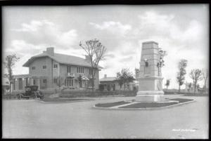 Primary view of object titled 'Irving Monument in Tulsa'.