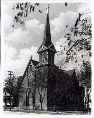 Primary view of object titled 'Sacred Heart Catholic Church in El Reno, Oklahoma'.
