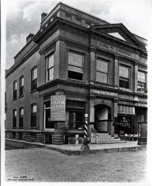 Primary view of object titled 'Bank of Commerce in Okmulgee'.