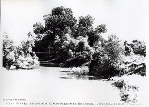 Primary view of object titled 'On the North Canadian River'.