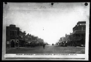 Primary view of object titled 'Main Street in Stillwater, Oklahoma'.