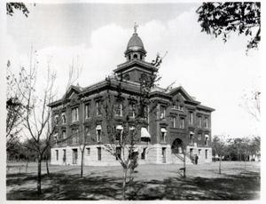 Primary view of object titled '1903 Canadian County Court House in El Reno, Oklahoma'.