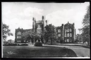 Primary view of object titled 'Administration Building at the University of Oklahoma in Norman, Oklahoma'.