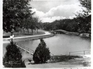 Primary view of object titled 'Park in Enid, Oklahoma'.
