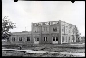 Primary view of object titled 'J.R. McChesney's Bits & Spurs Machine Shot in Pauls Valley, Oklahoma'.