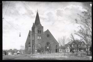Primary view of object titled 'First Christian Church in Guthrie, Oklahoma'.