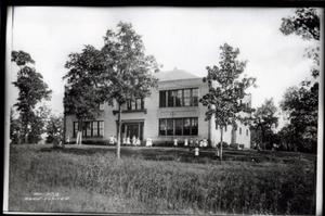Primary view of object titled 'Hugo Third Ward School in Hugo, Oklahoma'.
