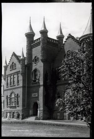 Primary view of object titled 'Williams Hall (Library) at Oklahoma State University in Stillwater, Oklahoma'.