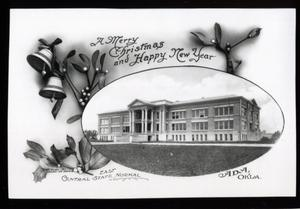 Primary view of object titled 'East Central State Normal School in Ada, Oklahoma'.
