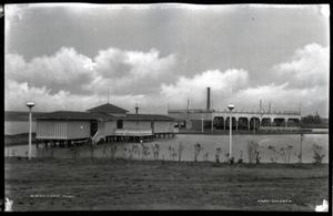 Primary view of object titled 'Bath House at Belle Isle in Oklahoma City, Oklahoma'.