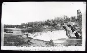 Primary view of object titled 'Pennington Creek near Tishomingo, Oklahoma'.