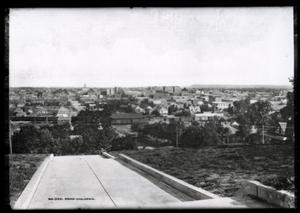Primary view of object titled 'Low Oblique View of Tulsa'.
