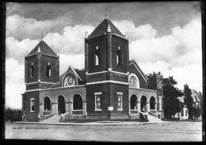 Primary view of object titled 'Church in Tulsa, Oklahoma'.