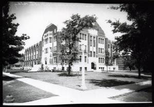 Primary view of object titled 'Adams Hall at the University of Oklahoma in Norman, Oklahoma'.