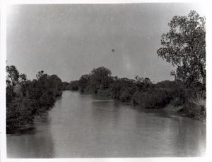Primary view of object titled 'North Canadian River near El Reno, Oklahoma'.