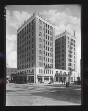 Primary view of object titled 'Skirvin Hotel in Oklahoma City'.