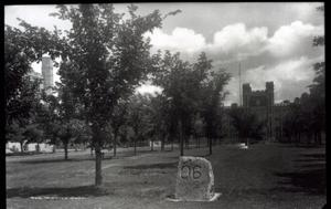 Primary view of object titled 'North Oval at the University of Oklahoma in Norman, Oklahoma'.