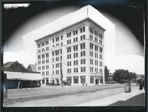 Primary view of object titled 'Pioneer Building in Oklahoma City'.