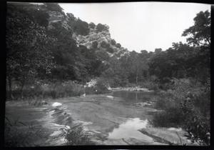 Primary view of object titled 'Turner Falls near Davis, Oklahoma'.