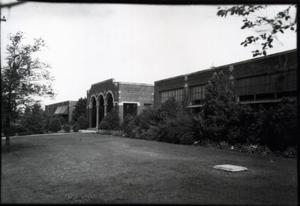 Primary view of object titled 'Industrial Building  at Oklahoma State University in Stillwater, Oklahoma'.