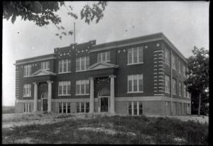 Primary view of object titled 'Sulphur High School in Sulphur, Oklahoma'.