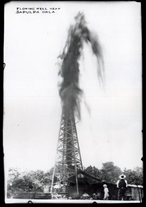 Primary view of object titled 'Blowing Well near Sapulpa'.