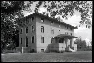 Primary view of object titled 'Beta Meta Pi Chapter House  at the University of Oklahoma in Norman, Oklahoma.'.