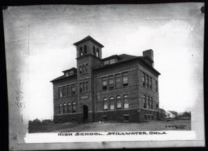 Primary view of object titled 'Stillwater High School in Stillwater, Oklahoma'.