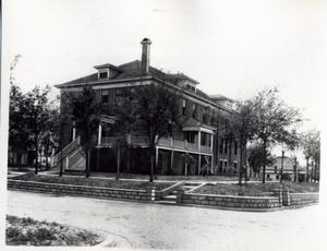 Primary view of object titled 'Sanitorium in El Reno, Oklahoma'.