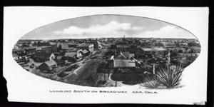 Primary view of object titled 'Broadway Street in Ada, Oklahoma.'.