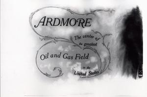 Primary view of object titled 'Graphic for Ardmore, Oklahoma'.