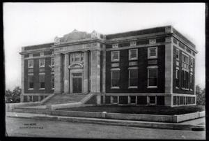 Primary view of object titled 'Public Library in Muskogee, Oklahoma'.