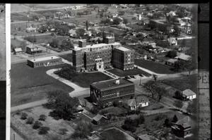 Primary view of object titled 'Guthrie Hospital and Nurses Training School in Guthrie, Oklahoma'.