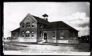 Primary view of object titled 'North Public School in Ada, Oklahoma'.