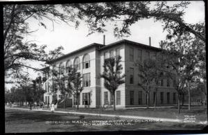 Primary view of object titled 'Science Hall  at the University of Oklahoma in Norman, Oklahoma'.