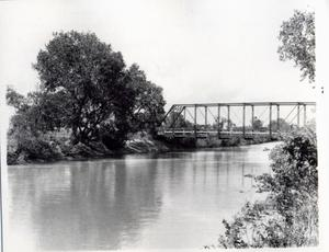 Primary view of object titled 'North Canadian River Bridge North of El Reno, Oklahoma'.